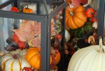 Thanksgiving & Fall / Decorations, food, ideas, thought