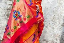 Branded sarees