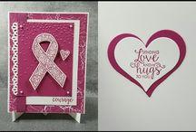 Stampin' Up! Ribbon of Courage Stamps Bundle Cards / Stampin' Up! Ribbon of Courage Stamps Bundle Cards