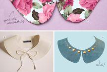 Gallérok / Díszítsd ruhád különleges gallérokkal vagy csak vegyél galléros ruhadarabokat :)