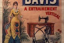 Davis Sewing Machines / by Karin Davis