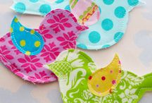 Fabric crafts / by Rainbow Penguins
