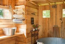 Holz Badezimmer