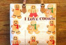 "Сумка "" I love cookie"""