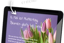 Digital Signage for Florists / Digital Signage solution for flower shops, gardener and florists
