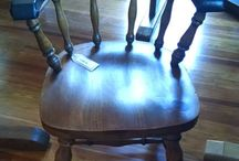 Nautical Furniture / Annapolis Maritime Antiques carries a wide variety of nautical furniture, including pieces made from sturdy Liberty Ship hatch-covers, elegant teak tables and chairs, and classic cabinets and captain's chairs.