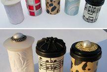 Crafts-Pill Bottles