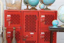 Back to School / Vintage-inspired schoolhouse crafts & DIY.