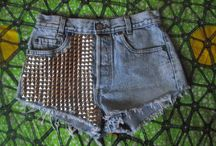 It's summer, mamma needs some shorts / I need to run to the thrift store, buy cart fulls of jeans and repurpose them into these. / by Megan Downs