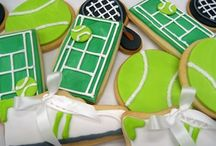 Wimbledon / Wimbledon themed board with recipes and imagery based on Tennis