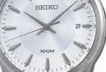 Seiko SNT019 - Silver / Hitam