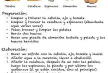 Recetas de cocina / by mercedes Fuentes