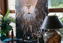 lion/africamood/100x150cm