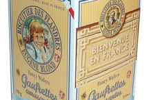 Eugene Blond / Located in northern France, Eugene Blond's was founded in 1894. Eugene passed his secret wafer recipe and company down to his son, Pierre, who made the wafers every morning until he was too old to lift the bowls. These wafers are a sweet treat and are still made with the same recipe that was created in 1894.