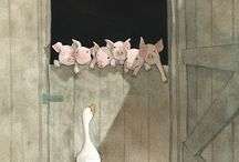 ILLUSTRATIONS / ART on the PRINTED PAGE  / by Carol miller