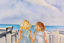Josie's painting