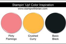Color Inspiration / Stampin' Up! Color Combinations