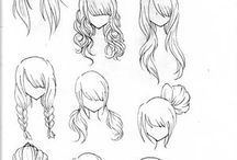 How to draw manga and cartoon
