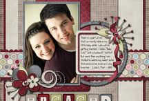 engagement scrapbook