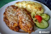 csirkemellből készült ételek