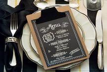 convite menu