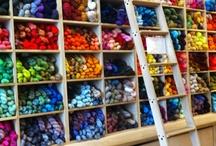 Yarn Storage / A collection of yarn storage ideas