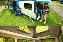 karavany, obytňáky