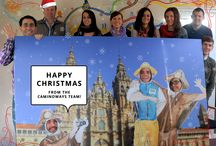 Christmas greetings from the CaminoWays Team / The CaminoWays.com Team would like to wish you a very Happy Christmas in all the languages spoken in the office.