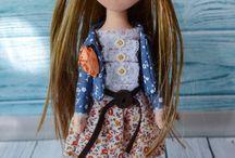 Портретная кукла / Такие куколки станут отличным подарком и ребенку и взрослому человеку!