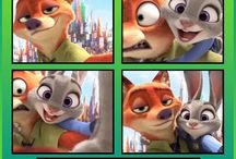 Zootopia : Nick and Judy