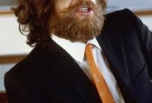 Mick Jagger with beard