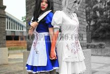alice madness returns / #Handmade #cosplay #Alice #Madness #Returns #InspirationAtelie #Lidell #costume #wonderland #Game #character #Gaming #Fancy #Dress #gothic #Evil #Dark #Horror #Blood