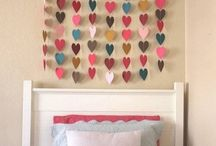 Girls bedroom / Decor ideas for girlies room
