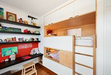 Kids playroom and bedrooms