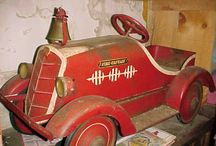 Old  Pedal Cars......... / H / by Heidi
