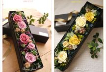 long box flowers