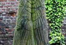 Esculturas en cementerios