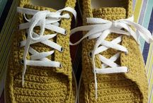 Zapatillas Tejidas / zapatillas tejidas en hilo de algodon