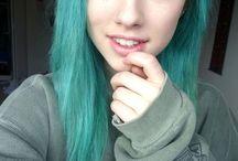 Turquoise Hair || Cabelo Turquesa