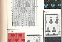 Knitting chart mönster diagram fair isl / Knitting charts mönster diagram fair isl