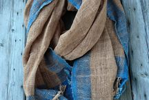 Handwoven cotton scarves / Handwoven cotton scarves