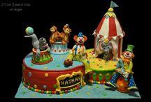 Circus cake / Torte a tema circense
