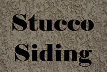 Stucco Siding  / There are many different products classified as siding!  #StuccoSiding #Stucco #GuzzoStucco #Masonry