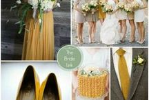 Goldenrod wedding