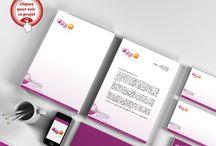 z.REG Création / Création graphique d'identité visuelle, logo, carte de visite, papeterie, papier en-tête, bristol. Augusto Cabral | Graphiste Webdesigner | Rennes www.augustocabral.com