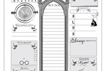 Harry Potter planner