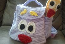 Crochet bags & boxes