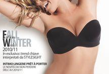 Linea Intima Covers (Italy) / Covers of the italian INTIMA Media Group magazine
