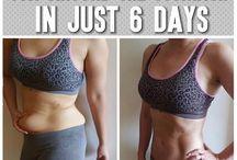 Loose weight around tummy