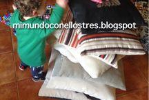 ESTIMULACION INFANTIL / Todo lo que hago con mis hijos para estimularlos